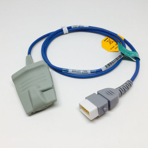 Reusable Adult Soft Silicon Finger Oximetry Sensor - Choose BCI or Nellcor Compatible