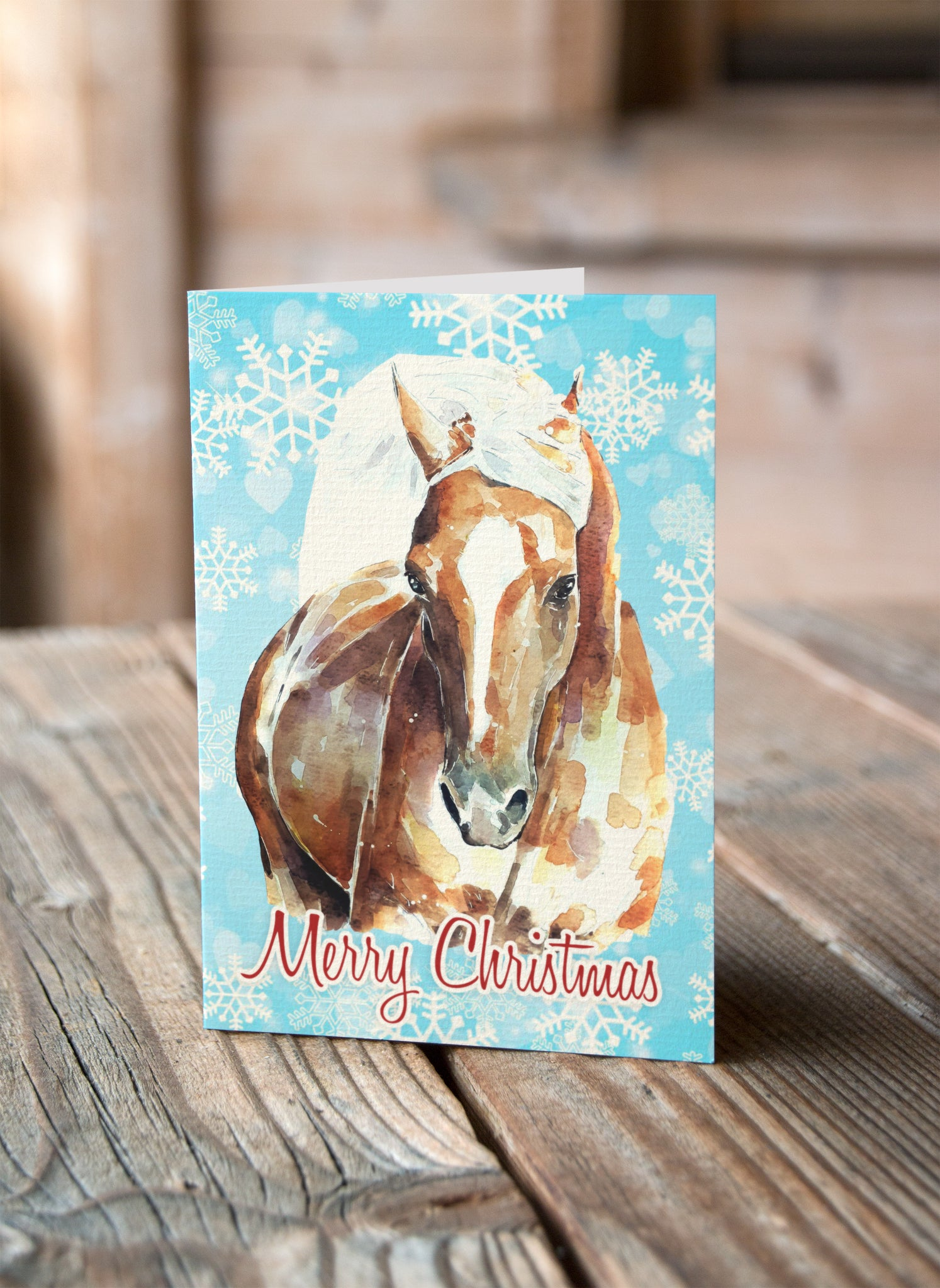MIXED PACK** Horse Christmas Cards (6 different images) – Ed\'s ...