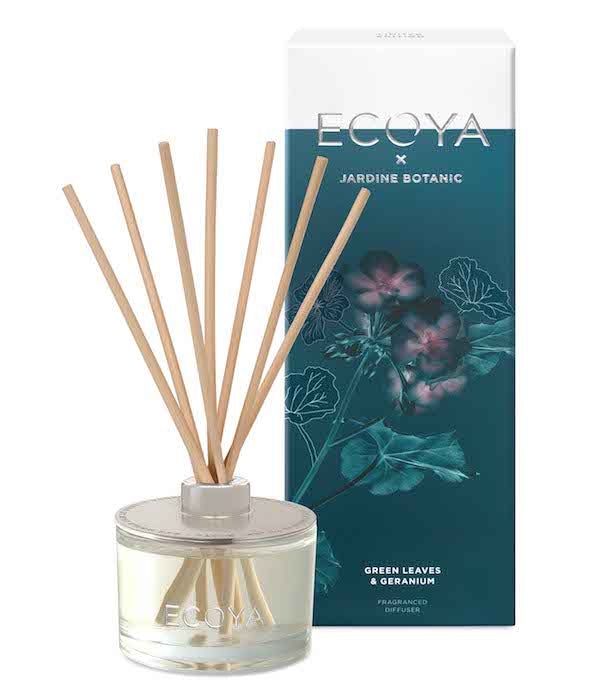 Bliss Flower Boutique - Green Leaves & Geranium - Diffusor - [Collection]