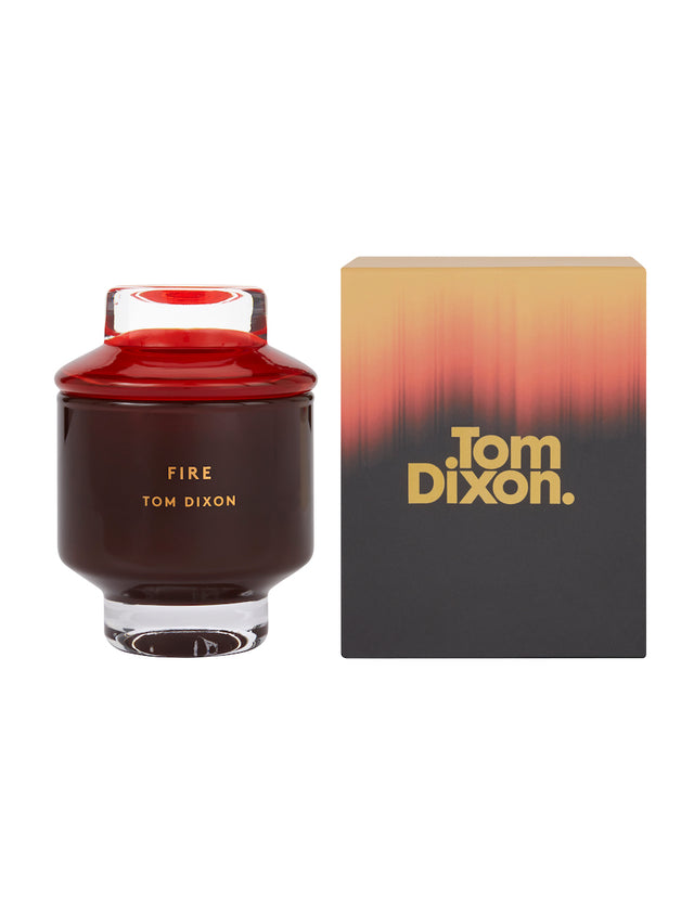 Bliss Flower Boutique - Elements Fire Candle - Medium - [Collection]