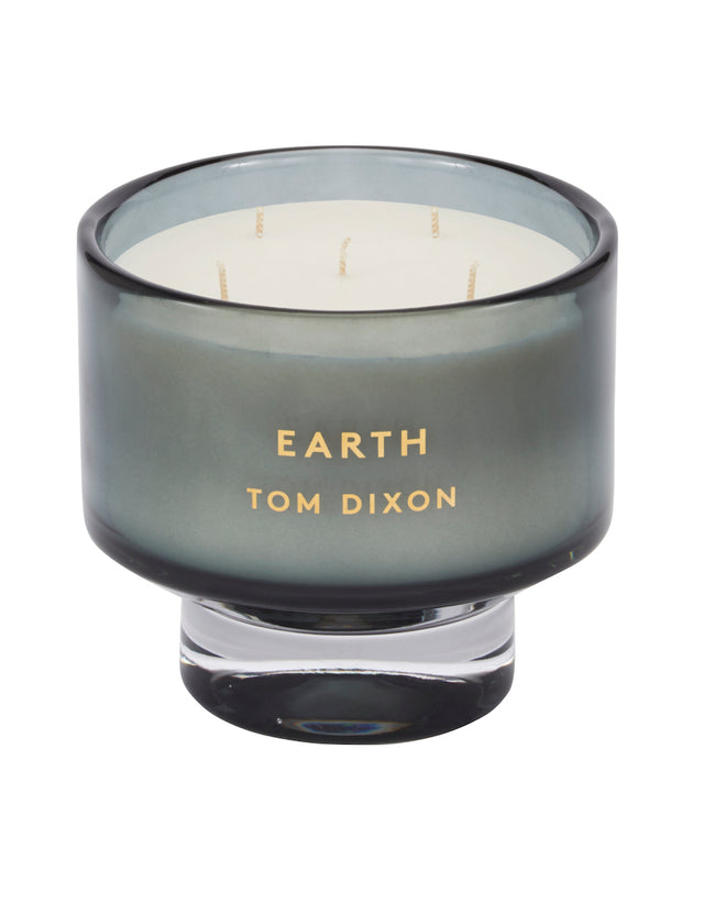 Bliss Flower Boutique - Elements Earth Candle - Large - [Collection]