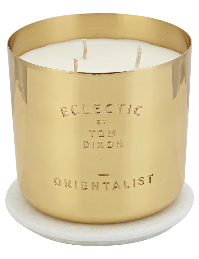 Bliss Flower Boutique - Eclectic Orientalist Candle - Large - [Collection]
