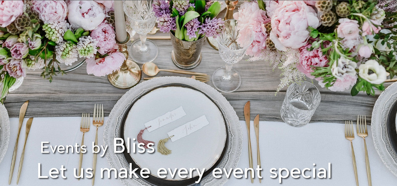 Events by Bliss Flower Boutique
