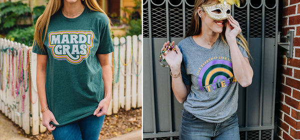 Callin' Sweet Baton Rouge | Mardi Gras Inspiration from this local T-shirt brand!