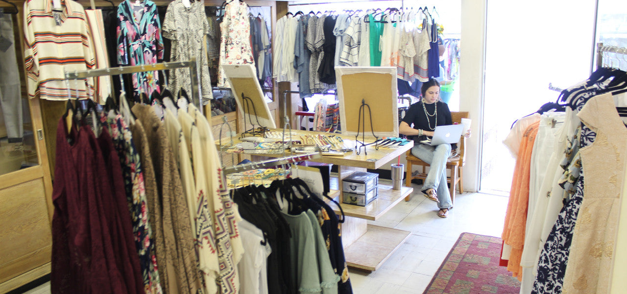 Pop Up Shop at Paw Paw's Store