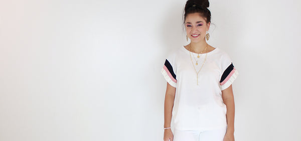 3 Tips for Wearing White on White This Summer