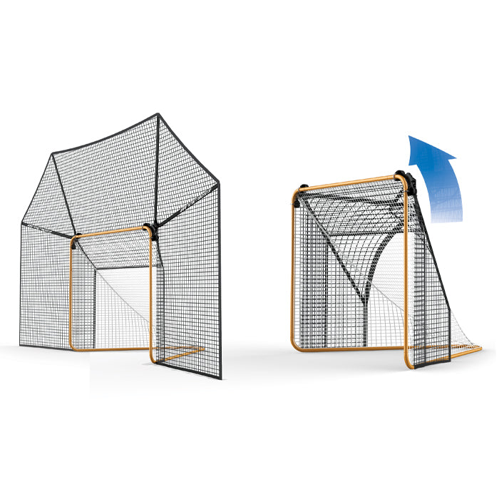 Smart Backstop for Lacrosse, 6' x 6', GEN 3 - Smart Backstop for Lacrosse