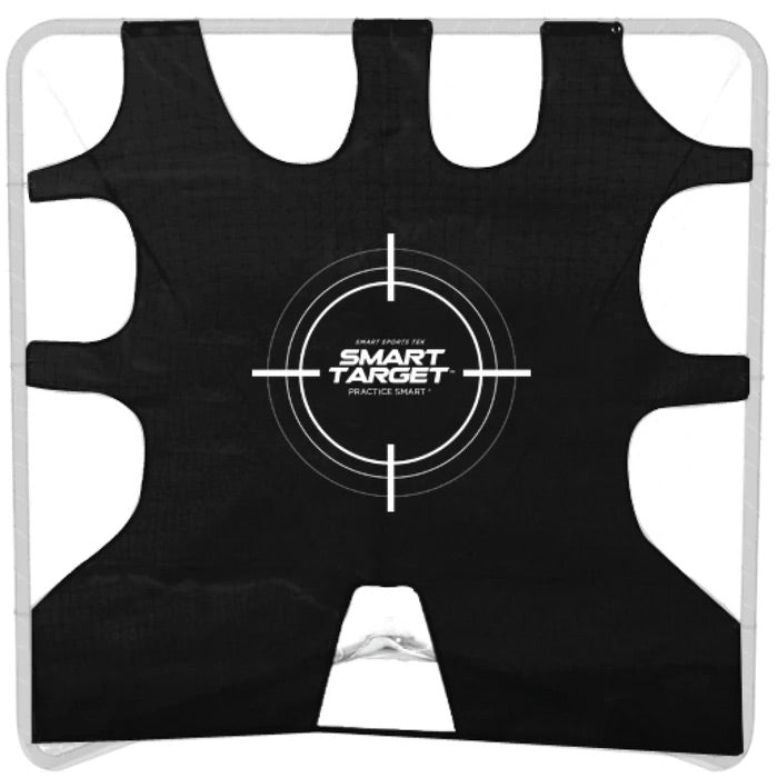 Smart Shooting Target for Lacrosse Goal, 6' x 6' - Smart Backstop for Lacrosse