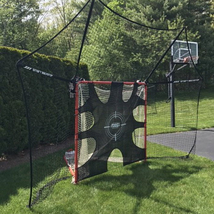 Smart Shooting Target for Lacrosse Goals