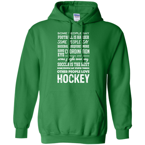 Hockey people Pullover Hoodie 8 oz