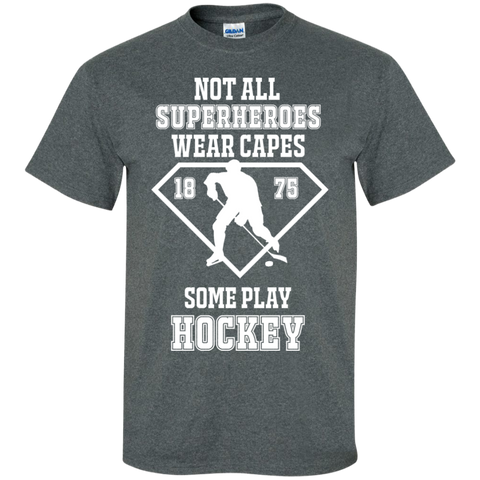 Hockey SuperHeroes Cotton T-Shirt