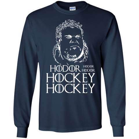 Hockey Hodor Cotton Mens Long Sleeve T-shirt
