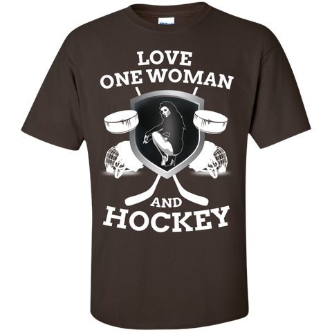 Hockey Love Cotton T-Shirt