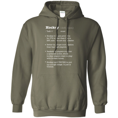 Hockey definitionPullover Hoodie 8 oz