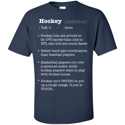 Hockey definition Cotton T-Shirt