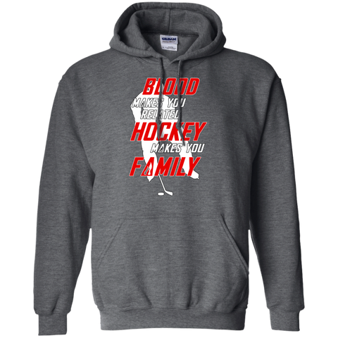 Hockey Family Pullover Hoodie 8 oz