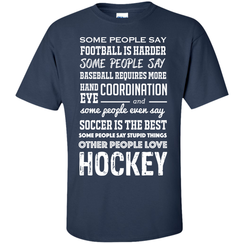 Hockey people Cotton T-Shirt