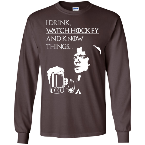 Hockey TyrionCotton Mens Long Sleeve T-shirt