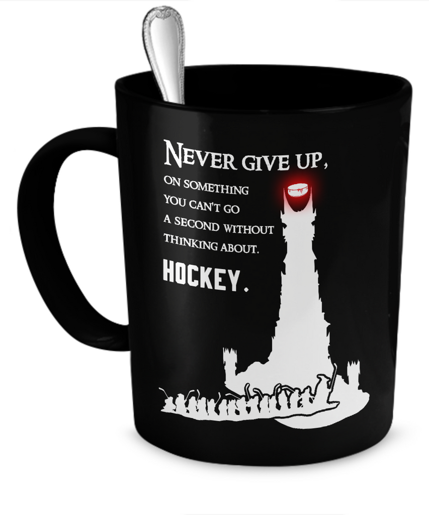 Hockey Lord of the Rings Mug