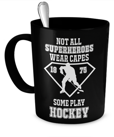 Hockey superheroes Mug