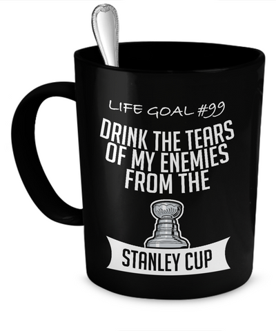 Hockey goals Mug