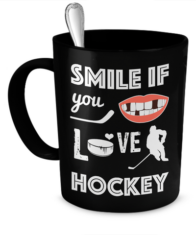 Hockey smile Mug