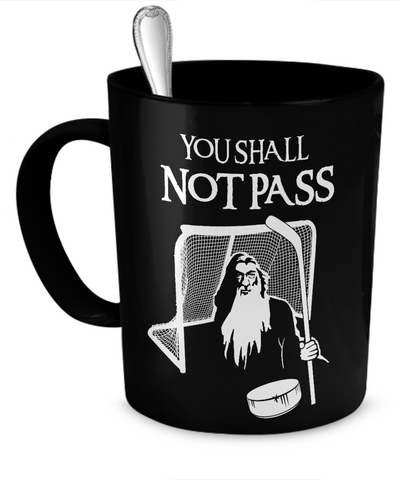 Hockey Gandalf Goalie Mug