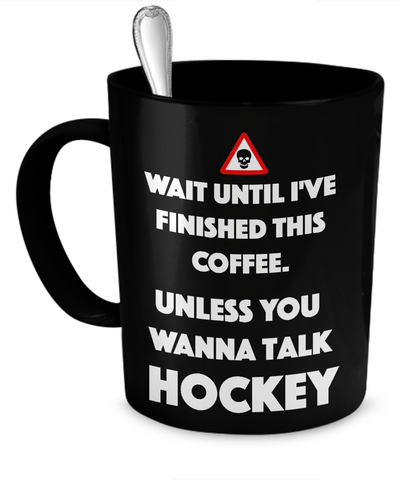 Talk Hockey Mug
