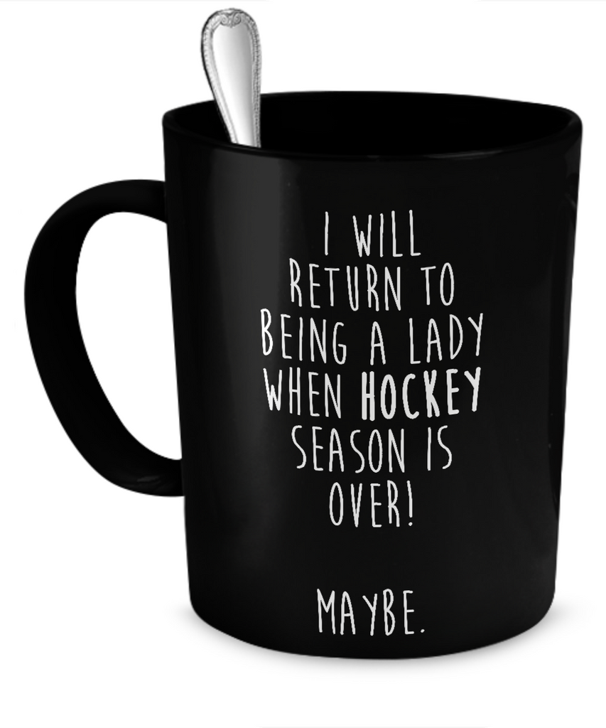 Hockey lady Mug