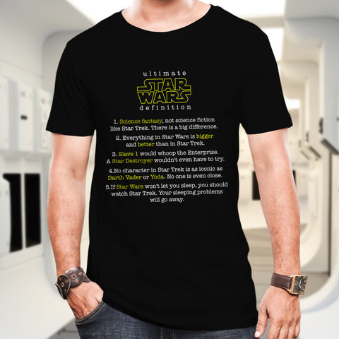 Star Wars definition Cotton T-Shirt