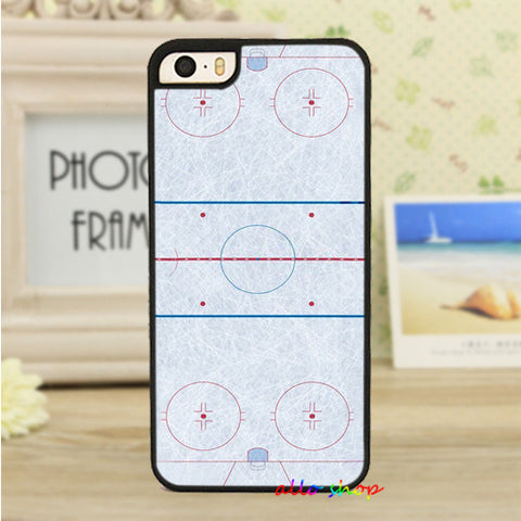 Ice Hockey Rink cell phone case for iPhone