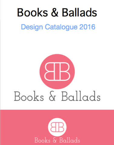 Books and ballads product catalogue