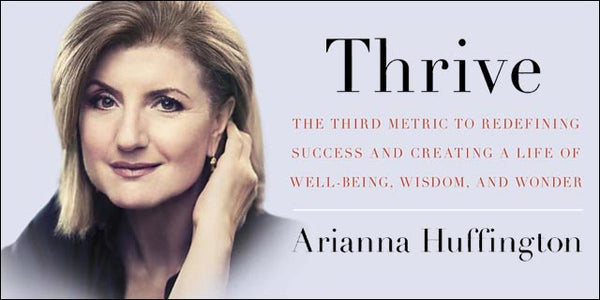 thrive ariana huffington review