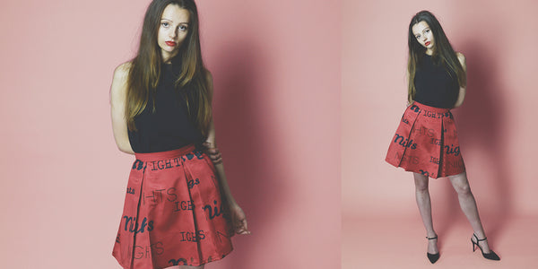 Wine Nights Collection skirt