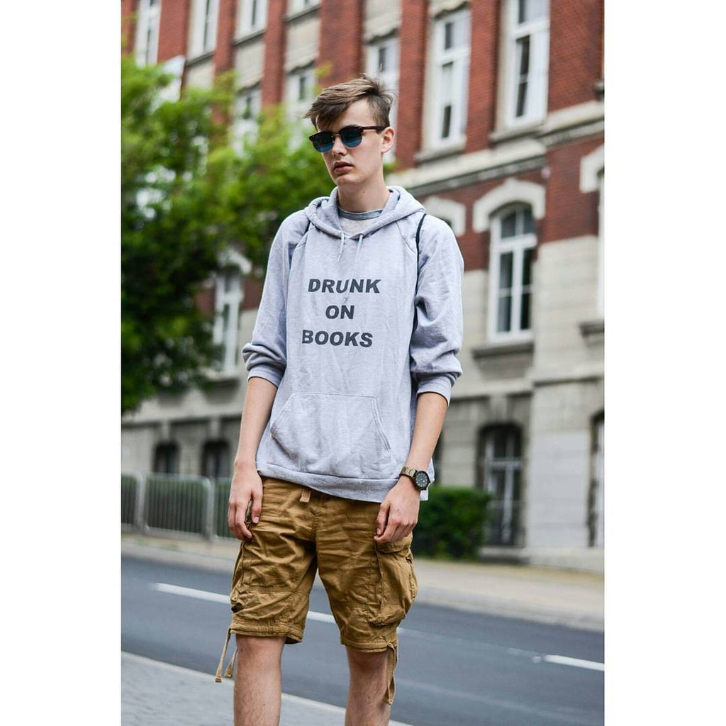 Drunk on Books: Hoodie