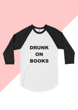 Drunk on Books: Baseball T-shirt