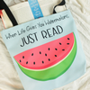 Just Read: Tote bag