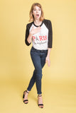 Paris in my Heart Baseball Tee