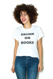 Drunk on Books: Short Sleeve Women's T-shirt