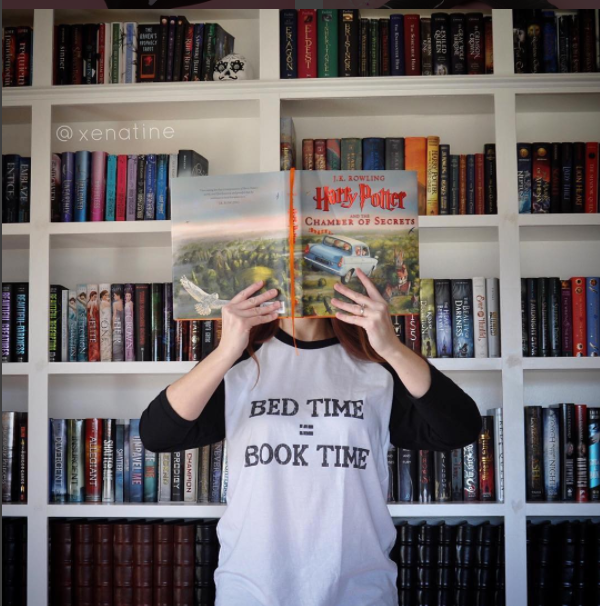 Bed Time= Book Time: Baseball T-shirt