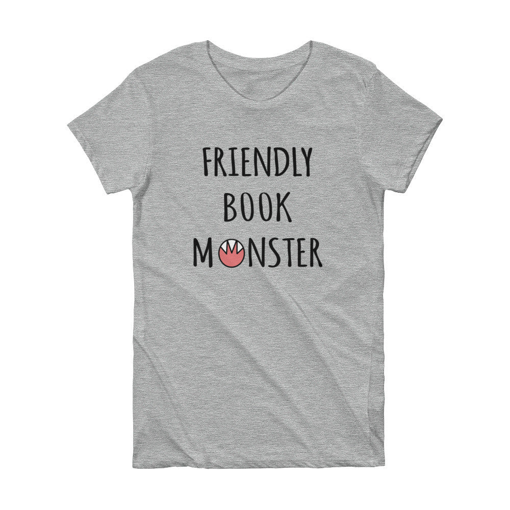 Friendly Book Monster Tee