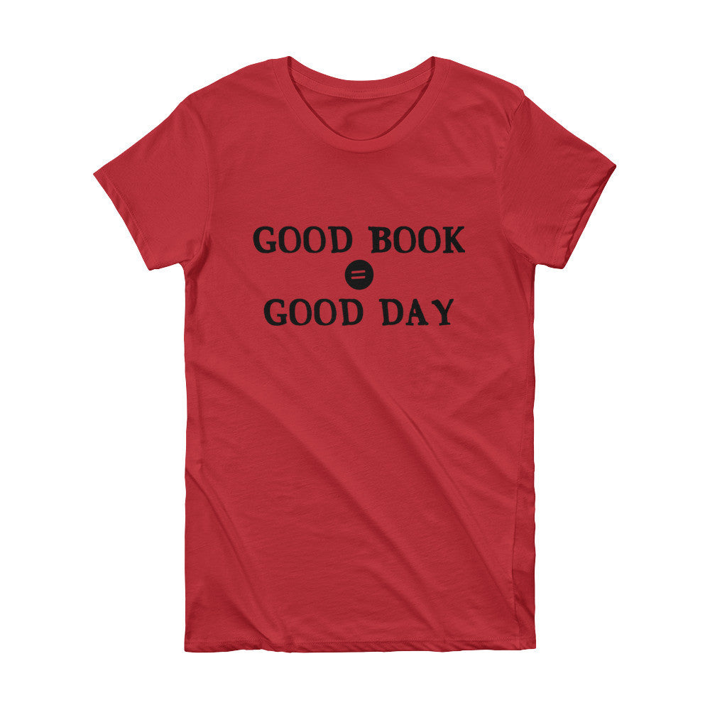 Good Book =Good Day Tee
