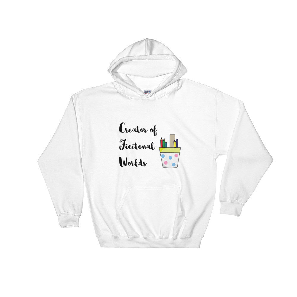 Creator of Fictional Worlds Hoodie