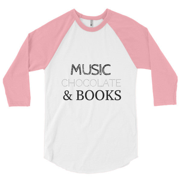 Music, Chocolate & Books: Baseball T-Shirt