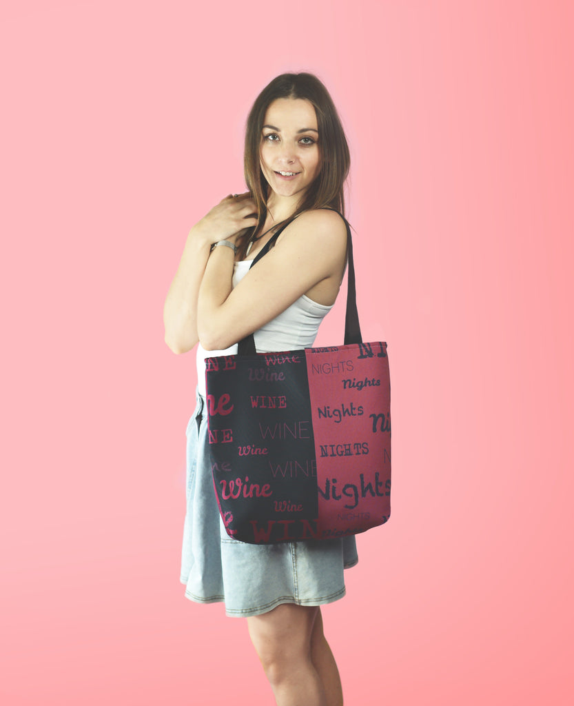 Wine Nights Tote bag