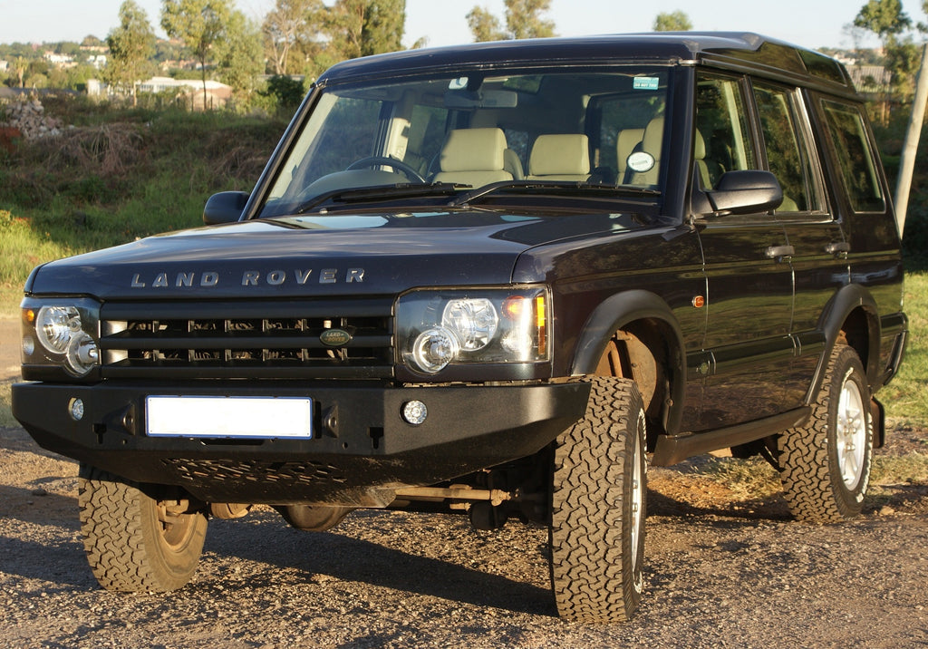 Land Rover Discovery 2 Front Steel Bumper Face Lift F