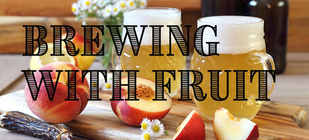 Making Beer With Fruit
