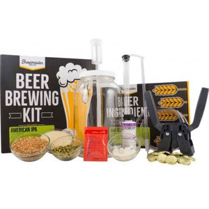 1 Gallon Homebrew Starter Kit (Includes American Ipa Recipe Kit) Beer Equipment Kits