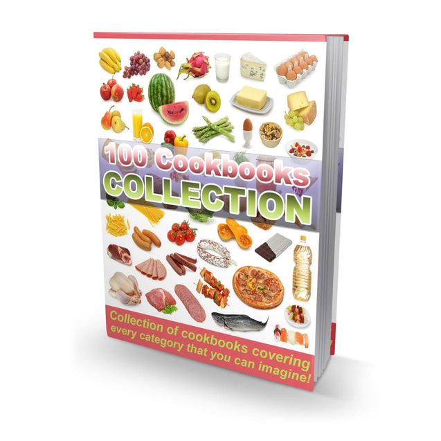 100 Super Cookbooks Collection - 63538 Recipes Cookbooks