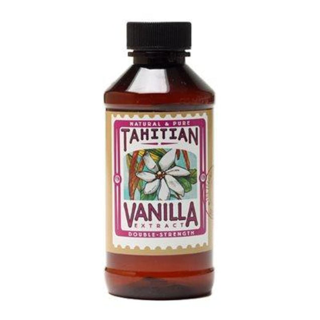 2-Fold Tahitian Vanilla Extract By Lorann Flavor Oils 4 Oz Spices And Flavorings